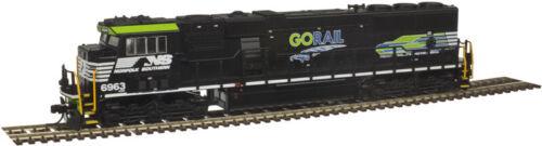 N Scale ATLAS GOLD 40 003 990 NORFOLK SOUTHERN SD60E Loco # 6963 DCC /& SOUND