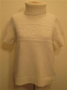 Nouveau Polo Wool 149 Chandail Hair Lapin Lauren M Ralph Femmes Top Angora Nwt rEqrCBw