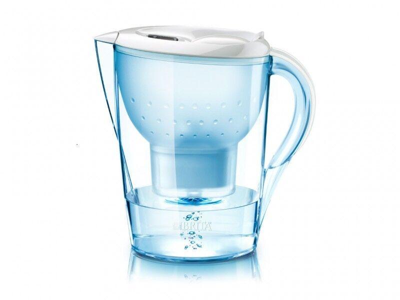 Brita Wasserfilter Marella weiss 2,4 Liter inkl 12 12 12 Kart 16c6f5