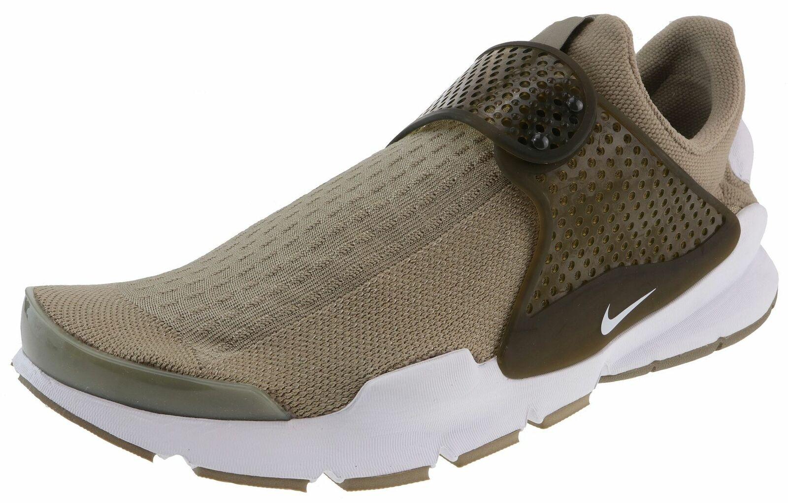 Nike  Running Sock Dart Jacquard Khaki Weiß Cargo Khaki