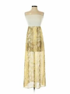 NWT-Love-Ady-Women-Yellow-Dress-XS