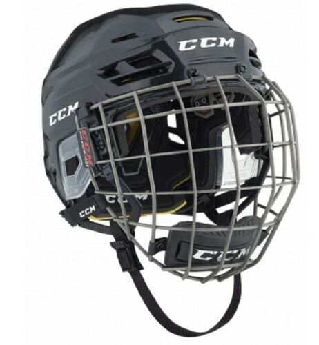 CCM Eishockey Helm Combo Tacks 310 Senior schwarz