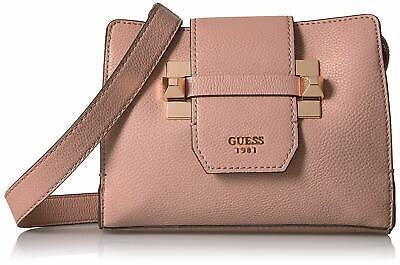 NWT Guess Talan Pebbled Crossbody purse Flap Handbag Pink   eBay