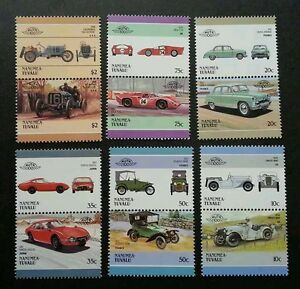 Tuvalu-Classic-Cars-1986-Antique-Transport-Vehicle-stamp-MNH