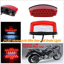 High Quality DC12V 21LED Waterproof Motorcycle ATV License Plate Lamp Tail Light