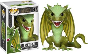 Game of Thrones RHAEGAL 6  DELUXE Dragon Funko Pop Vinyl Figure NEW RARE SALE