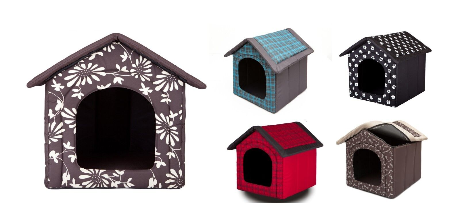 Kennel for dog house bed cat fabric tent Pet Supplies Any Colour Größe + Mattress