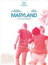 Affiche 40x60cm MARYLAND 2015 Matthias Schoenaerts, Diane Kruger, Paul Hamy NEUV