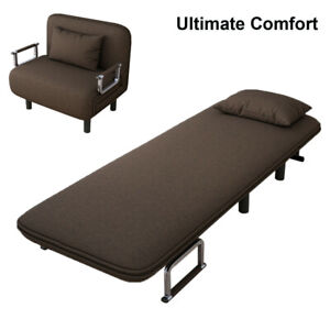 Convertible-Sofa-Bed-Folding-Arm-Chair-Sleeper-Leisure-Recliner-Lounge-Couch-New