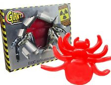 GIANT RADIOACTIVE SPIDER FRUIT FLAVOUR GUMMY CHEW CANDY SWEETS KIDS PARTY GIFT