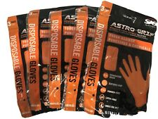 Pack of 1000 Large SAS Safety 66573 Nitrile Astro Grip Powder-Free Disposable Glove