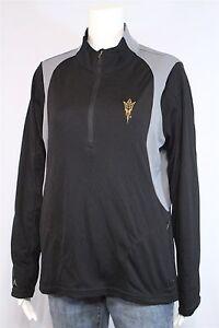 Antigua-Misses-LARGE-Arizona-State-Sundevils-1-2-Zip-Pullover-Jacket