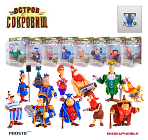 5 pc. Collection Action Figure Set №13 Cartoon Cut Rope PROSTO Toys