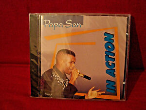 PAPA-SAN-IN-ACTION-CANADIAN-PROMO-COPY-NEW-SEALED-RAGGAE-CD