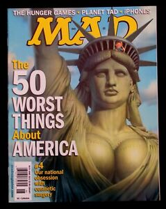 MAD MAGAZINE #515 June 2012 SHIPPED QUICKLY Priority Mail VERY GOOD CONDITION