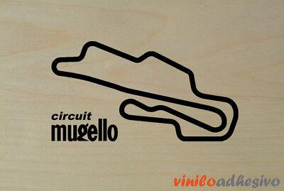 PEGATINA STICKER VINILO Mugello circuito circuit autocollant aufkleber adesivi