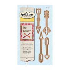 Spellbinders Lot 4 pcs Ornate Arrows Set NEW D-Lites Cupid's Arrow Heart NIP