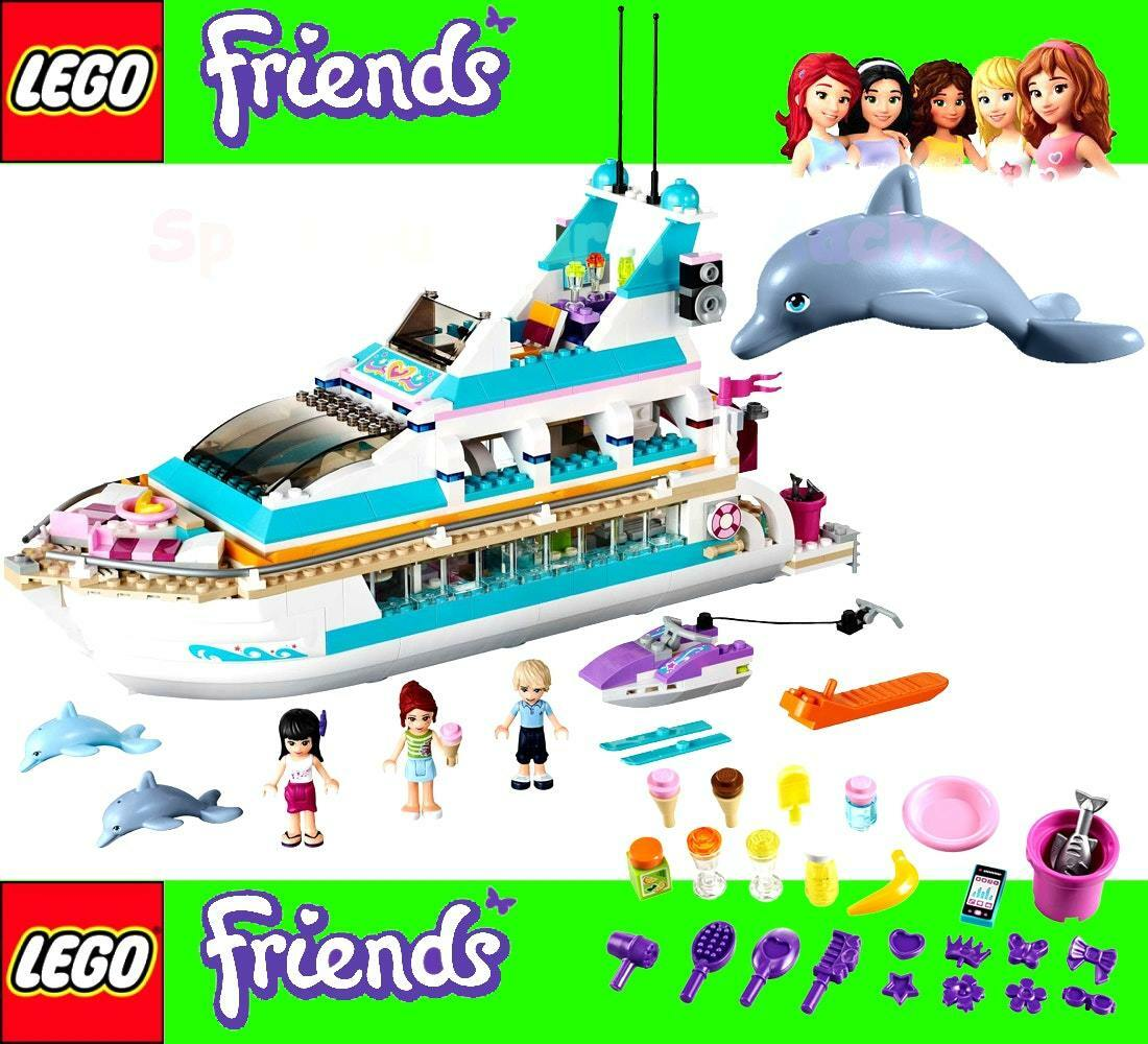 LEGO Friends Dolphin Cruiser 41015 Complete Set With Instructions