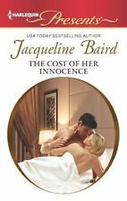 The Cost of Her Innocence (Harlequin Presents), Baird, Jacqueline, 0373131402, B