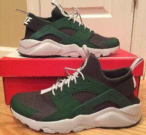 ed904d4df3a5e Nike Air Huarache Run Ultra 819685-301 Green Black Mens Size 10 ...