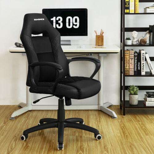 Gamingstuhl Bürostuhl mit Wippfunktion Racing Chair Chefsessel drehbar bis 150kg
