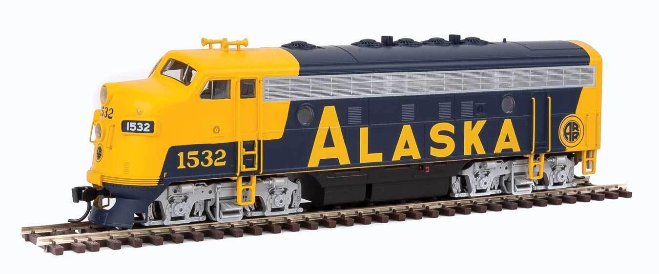 910-19928 EMD F7 A - ESU Sound and DCC Alaska Railroad 1532