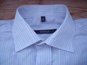TA1080-Eterna-Excellent-Freizeithemd-Kombimanschette-39-Hellblau-Weiss-Rot-gestre