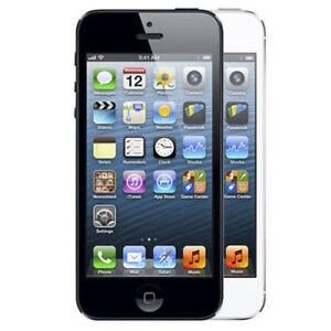 Apple Iphone 5 16gb Factory Unlocked Black And White Smartphone Ebay