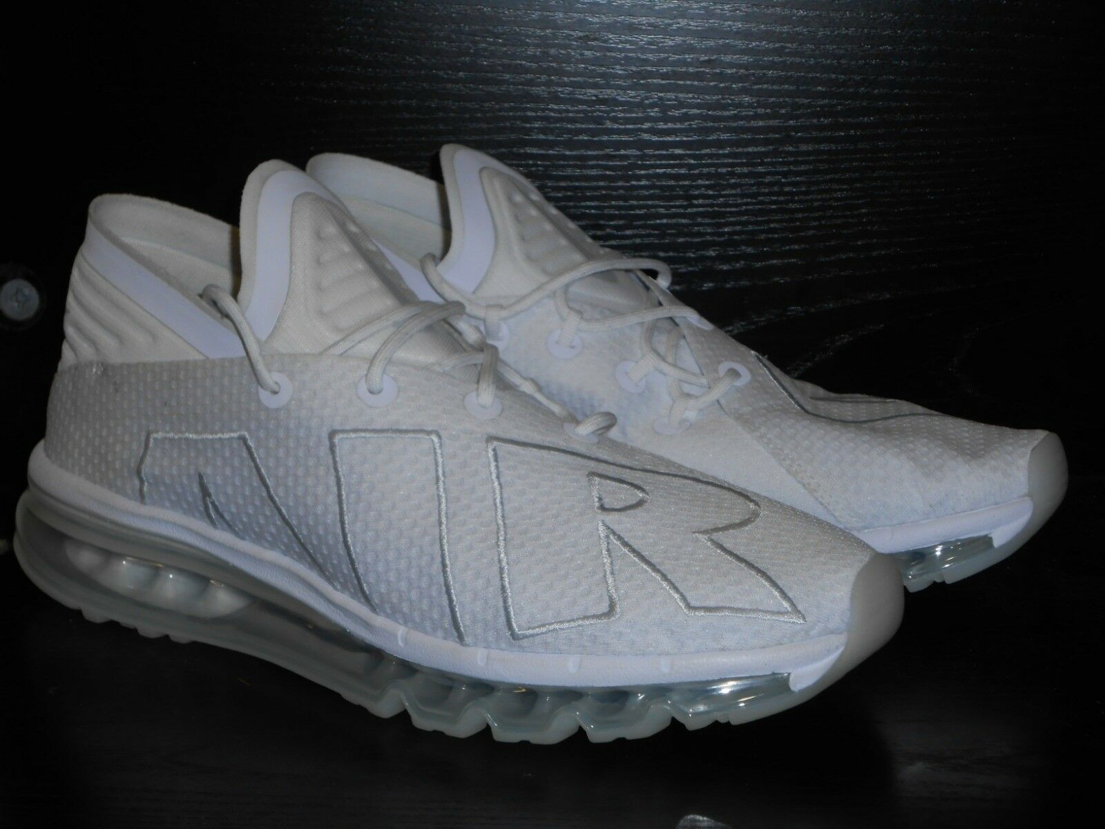 Nike Air Max Flair Mens Running Trainer shoes Size 8 White New