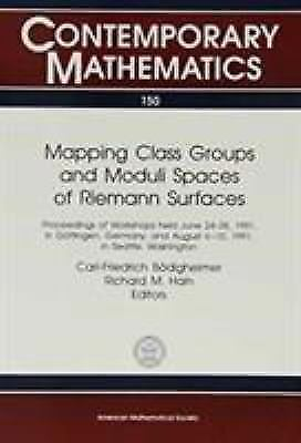 Mapping Class Groups and Moduli Spaces of Reimann Surfaces