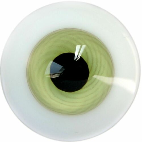 E11# 14mm Green Glass Eyes with Pupil For BJD Doll Dollfie Outfit Accessories