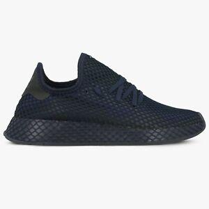 Détails sur Adidas deerupt Runner EE5682 Bleu Marine Noir Homme Original Baskets afficher le titre d'origine