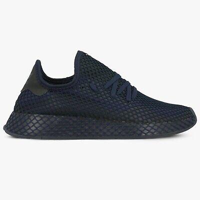 Adidas deerupt Runner EE5682 Bleu Marine Noir Homme Original Baskets | eBay