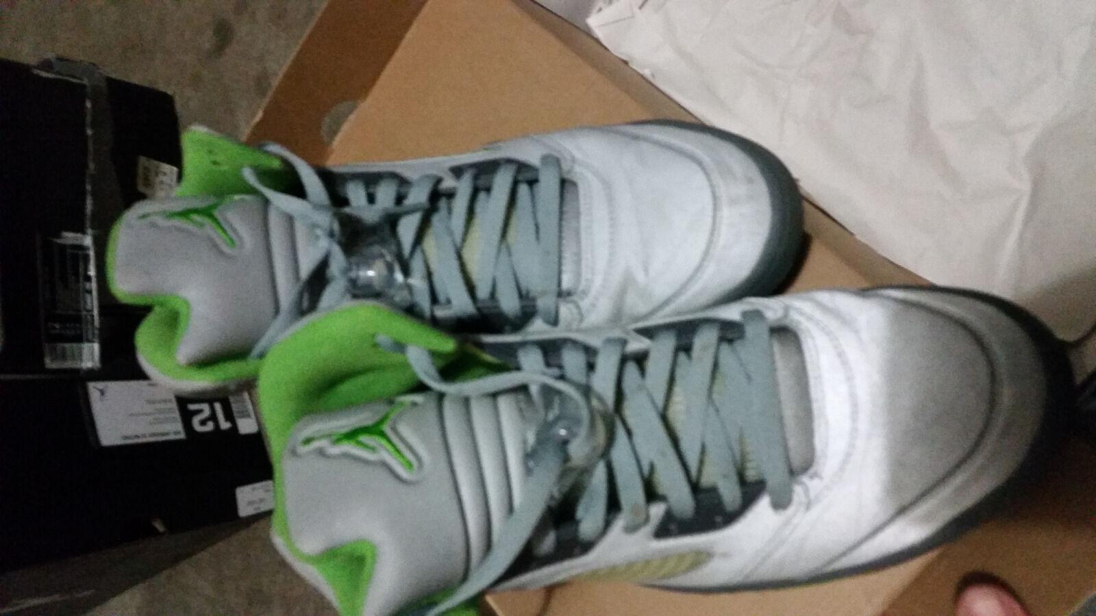 Nike Air Jordan V 5 Retro GREEN BEAN 12