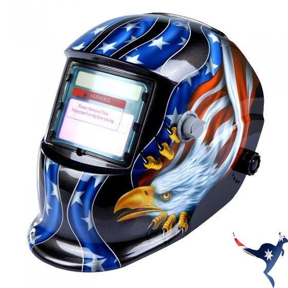 Pro Mask Shield Solar Auto Darkening Welding Helmet Arc Tig Eagle