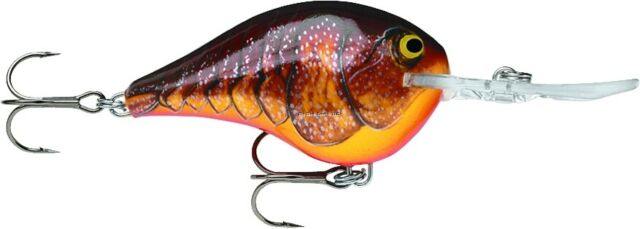 Rapala Dives-to 10 Dark Brown Crawdad DT10DCW for sale online