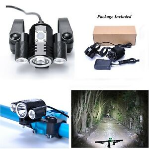 Rechargeable-Bicycle-CREE-XML-T6-LED-Front-Light-Bike-Headlamp-Headlight