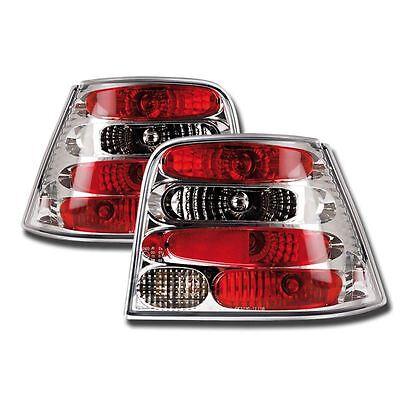 VW GOLF MK4 1998-2004 CHROME LEXUS REAR TAIL LIGHTS LAMPS PAIR NEW