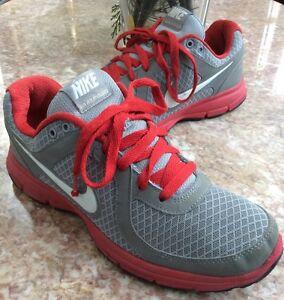 Nike Air Relentless Deportivos Para hombres Zapatos Deportivos Relentless Gris/Rojo Tamaño 42a7af
