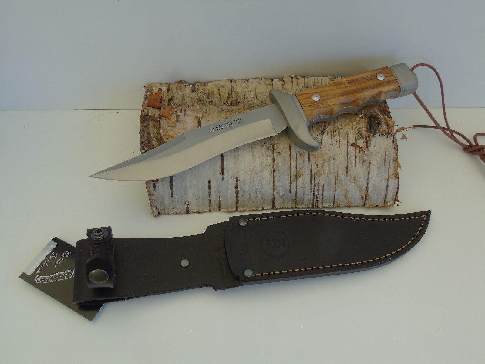 Nieto Bowie Messer Jagdmesser mit Olivenholz 129418