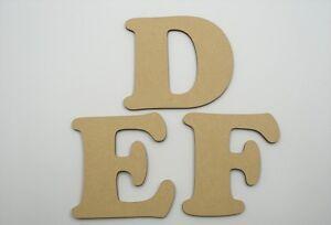 1.8mm x 10cm Large Wooden Letter Words Wood Letters Alphabet Name Coo Lowercase Plaques, panneaux, enseignes