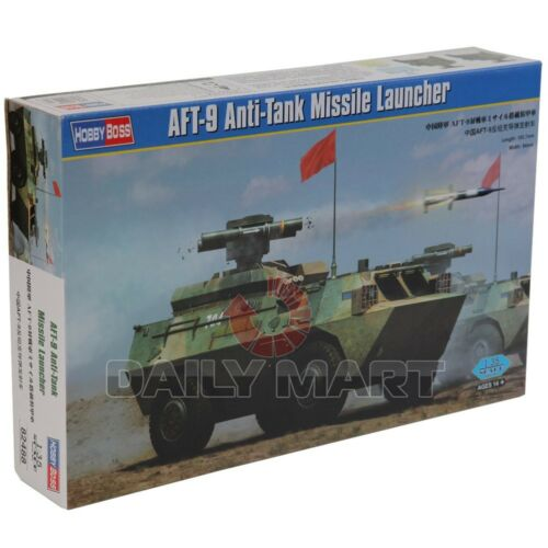 HobbyBoss 135 82488 AFT9 AntiTank Missile Launcher Model Kit Hobby Boss
