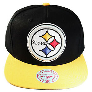... where to buy image is loading mitchell ness nfl pittsburgh steelers  snapback hat 789e4 4b672 93dabb5c2