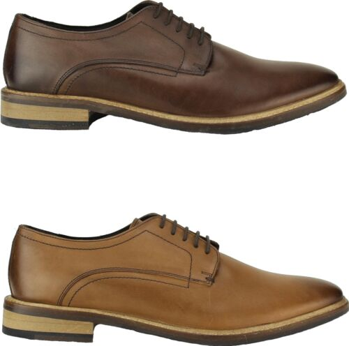 Ikon CONRAD Mens Leather Smart Casual Stylish Comfortable Lace Up Derby Shoes