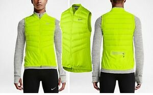 0f8751922b84 Nike Aeroloft 800 Vest 683912-702 Insulated down running vest volt ...