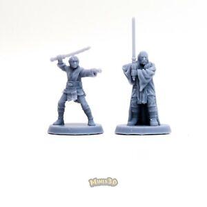 Jedi - Star Wars: Legion, Imperial Assault - Minis3D