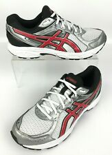 NEW ASICS Men/'s GEL-Contend 3 Running Shoe T5F4N Gray//White//Red 88Y sm