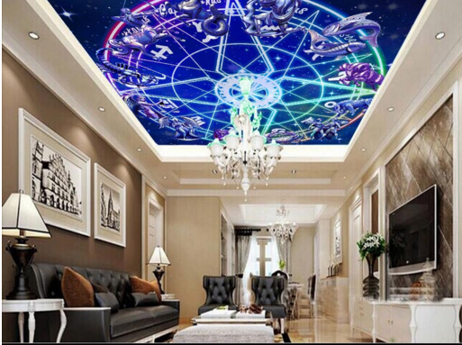 3D Star Wheel 49 Ceiling WallPaper Murals Wall Print Decal AJ WALLPAPER US