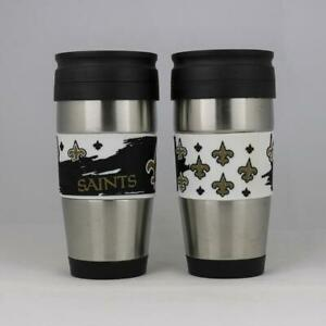 New-Orleans-Saints-NFL-Officially-Licensed-15oz-Stainless-Steel-Tumbler-w-PVC-W