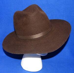 Details about NEW M BRIXTON Ltd. 57.5 cm 7 1 4 NORDSTROM LUBBUCK  210 BROWN  FEDORA COWBOY HAT 06634fbe04f